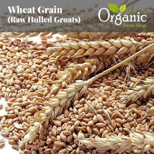 Wheat Raw Grain (Hulled Groats) - Certified Organic