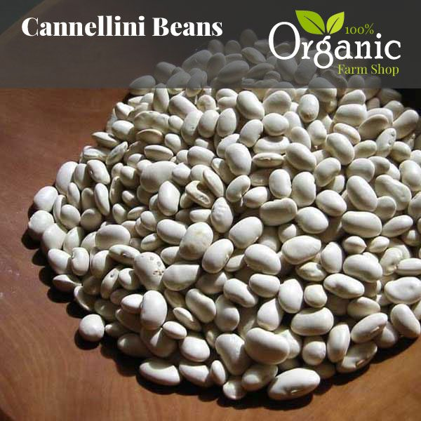 Cannellini Beans - Certified Organic