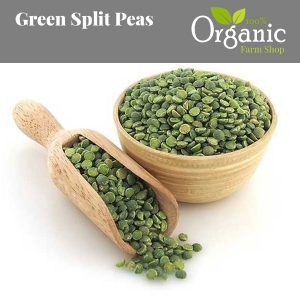 Green Split Peas - Certified Organic