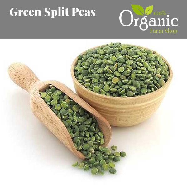 Green Split Peas - Certified Organic