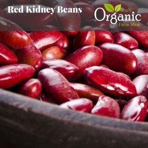 Red Kidney Beans - Certified Organic