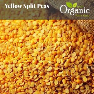 Yellow Split Peas - Certified Organic