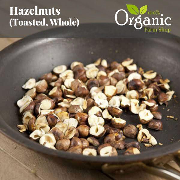 Hazelnuts (Toasted, Whole)