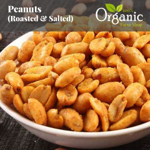 Peanuts (Roasted & Salted)