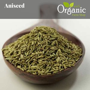 Aniseed - Certified Organic