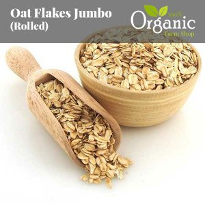 Oat Flakes Jumbo (Rolled) - Certified Organic