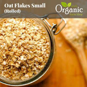 Oat Flakes Small (Rolled) - Certified Organic
