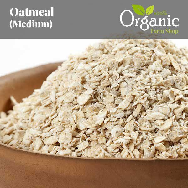 Oatmeal - Certified Organic