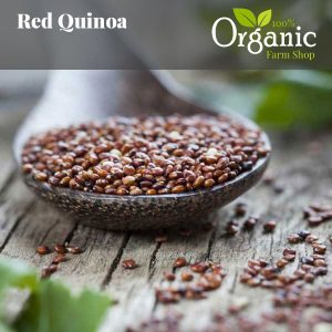 Quinoa Red - Certified Organic