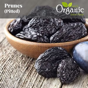 Prunes (Whole, Pitted) - Certified Organic