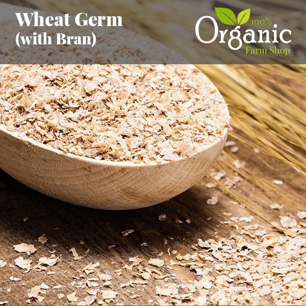 Wheat Germ with Bran - Certified Organic