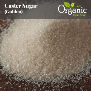 Caster Sugar (Golden) - Certified Organic