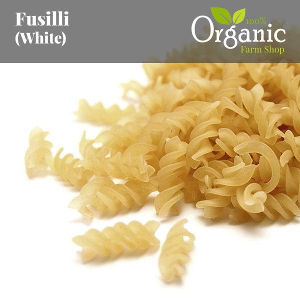 Fusilli (White) - Certified Organic