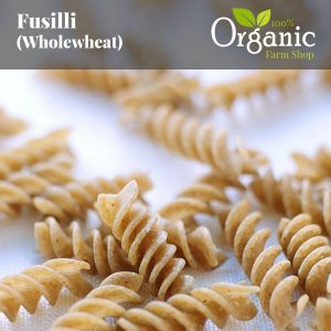 Fusilli (Wholewheat) - Certified Organic