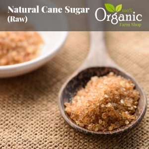 Natural Cane Sugar (Raw) - Certified Organic