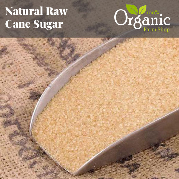 Natural Raw Cane Sugar - Certified Organic
