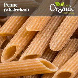 Penne (Wholewheat) - Certified Organic