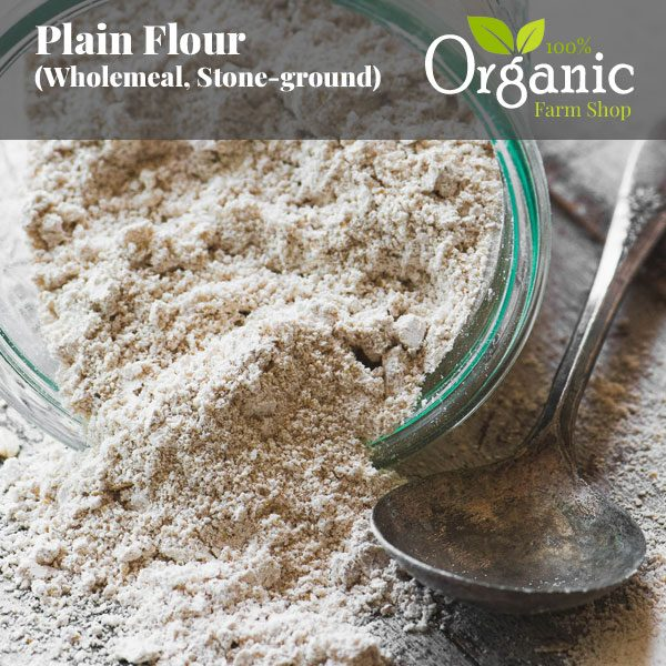 Plain Flour (Wholemeal, Stone-ground)