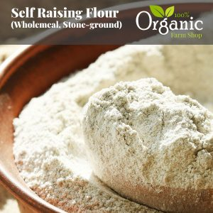 Self Raising Flour (Wholemeal, Stone-ground)