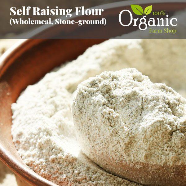 Self Raising Flour (Wholemeal, Stone-ground)