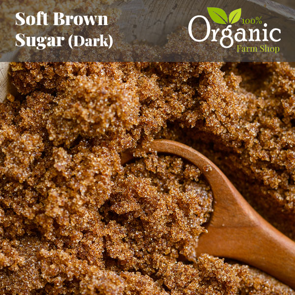 Soft Brown Sugar (Dark) - Certified Organic