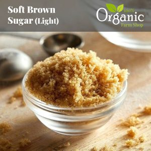 Soft Brown Sugar (Light) - Certified Organic