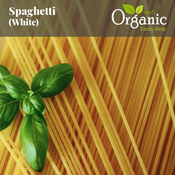 Spaghetti (White) - Certified Organic