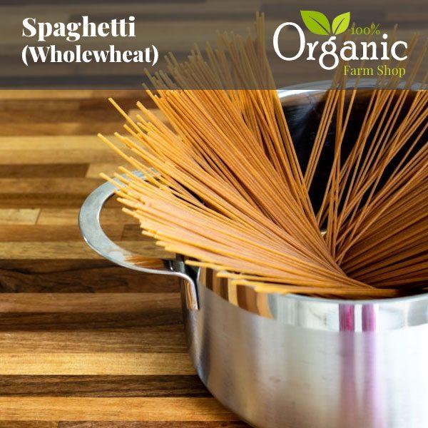 Spaghetti (Wholewheat) - Certified Organic