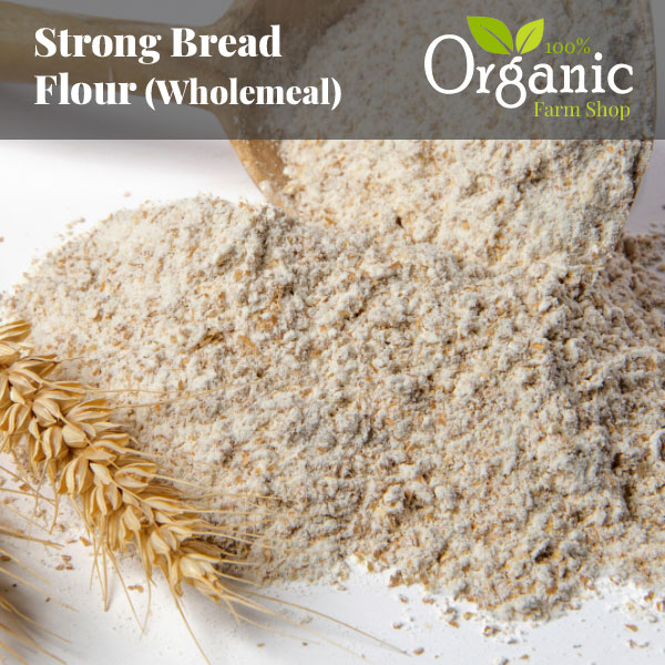 Strong Bread Flour (Wholemeal) - Certified Organic