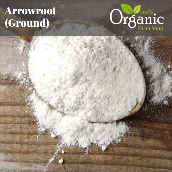 Arrowroot (Ground) - Certified Organic