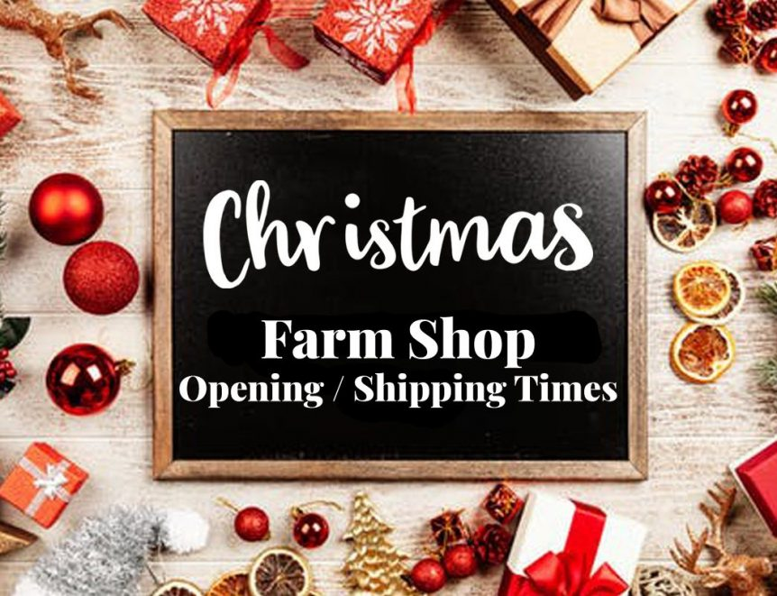 Farm Shop Christmas Opening Times